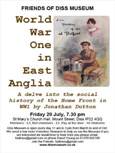 World War One in East Anglia